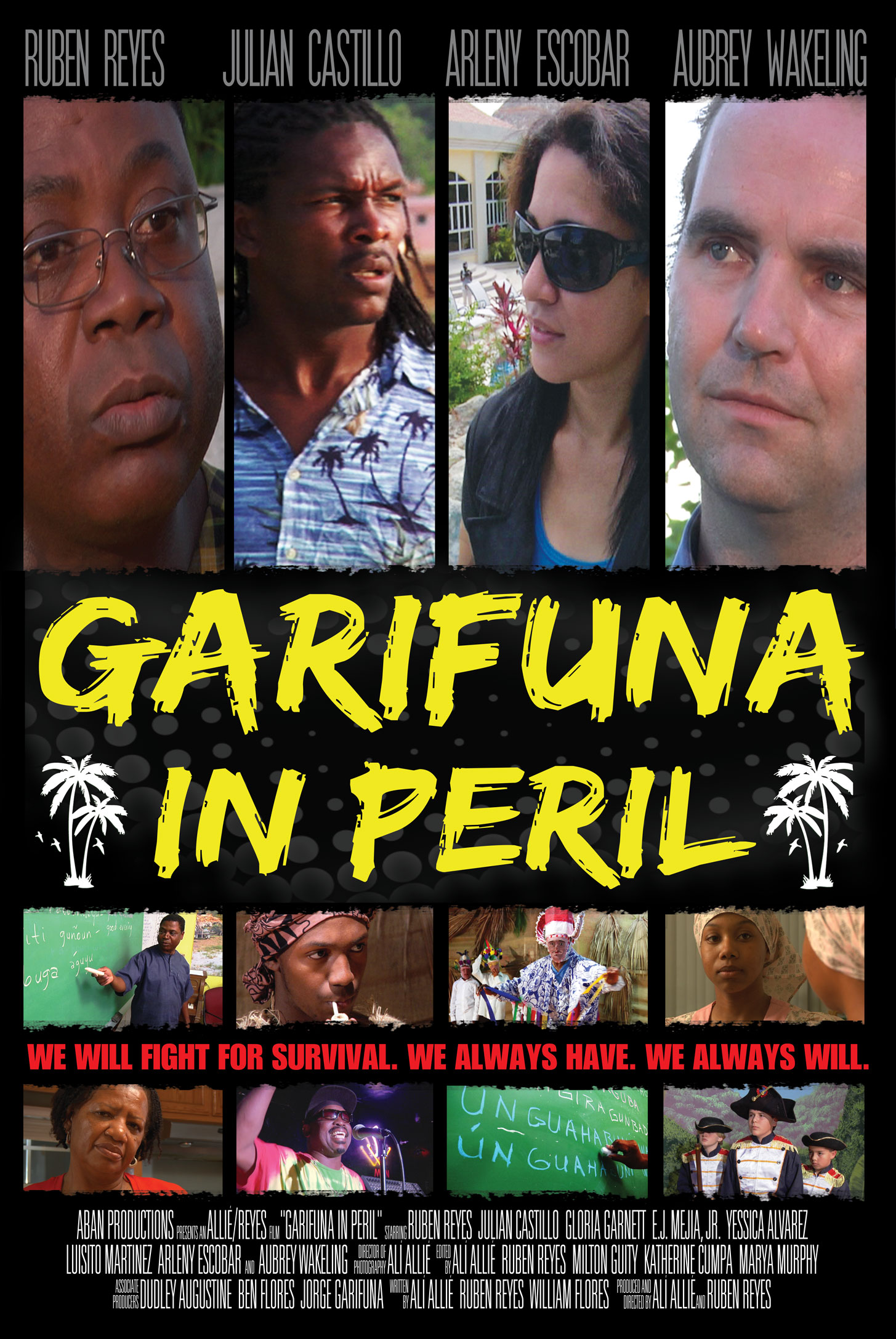 Garifuna in Peril Movie Poster